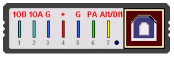 Zapojení konektoru ECU MASTER LITE